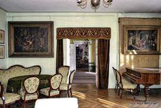 Dworek Jana Matejki - Klub Podróżników Śródziemie Palace, Manor Houses, Krakow, Mirror, Geo, Castles, Furniture, Home Decor, Poland