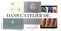 dans l'atelier ... Paris, Class Ring, Colored Gold, Atelier, Montmartre Paris, Paris France