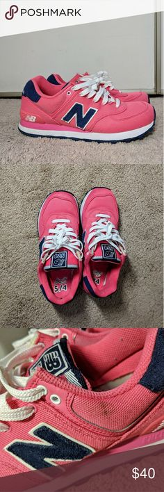 low priced 33943 316b3 New Balance 574 Pink Sneakers The classic 574 in a super fun bubblegum  color. The