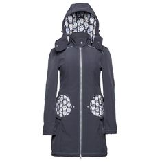 "Liliputi® Mama Coat  ""Skully""  http://www.liliputibabycarriers.com/babywearing-mama-coat/mama-coat-skully"