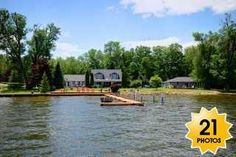 Rice Lake waterfront with acreage
