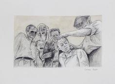 «Miserable I» de Carmen Ávila Grafito y acuarela / papel - Graphite and watercolor on paper   22.9 x 30.5 cm   2015 www.dasubstanz.com/miserable