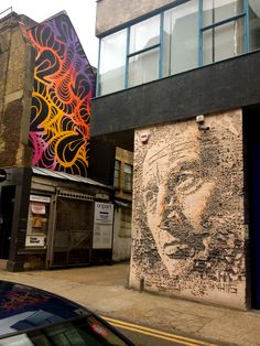 London Street Art - Shoreditch INSA http://www.stanfords.co.uk/blog/post/London-Street-Art.aspx #London #Street #Art