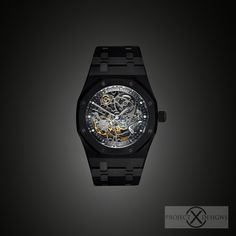 BLACK-OUT AUDEMARS PIGUET ROYAL OAK OPENWORKED by PROJECT X