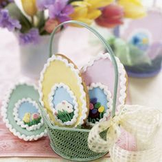 These cute confections are sure to make any little Easter bunny smile. Recipe: Chocolate-Covered Candy Eggs   - Delish.com