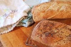 thoughts on bread making and making bread bags