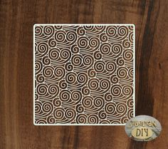 """Cardboard for scrapbooking """"The Background """"Waves"""" by SiberianDIYcraftsArt on Etsy"""