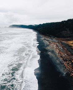Endless beauty on the Washington Coast. Photo by @andrewling #pnwonderland