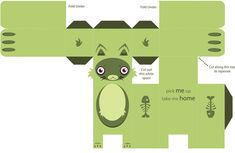 FREE printable Cat Paper toy by ~lobsterfancy on deviantART