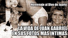 20 fotos del album más intimo de Juan Gabriel