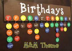 Birthday board. Easy DIY project.
