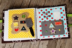 Cookie cutter shape pages