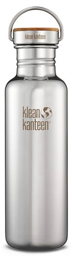 A new Klean Kanteen bottle with a bamboo cap is made from all toxin free materials to help you live a healthy, chem-free lifestyle.