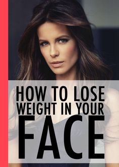 So, you want to know how to lose weight in your face. It's a pretty common request, and it's not always straightforward to do. Firstly, there's no way to lose weight from your face alone ...