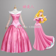 Free Shipping Customized Sleeping Beauty Aurora Princess Dress Princess Aurora Costume