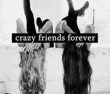 Inspiring picture beautiful, black, crazy, forever, hair, friends, tumblr, white, hipsta, hipster, legs, love, your, bestfriend. Resolution: 400x426. Find the picture to your taste!