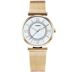 07cb928c8358 Women s Top Brand Fashion Gold Luxury Diamond Watches relogio feminino reloj  mujer