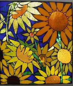 I love sunflowers, so happy