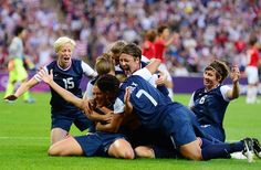 United States vs Japan, Gold Medal Match - Soccer Slideshows (Photo: US Presswire) #NBCOlympics