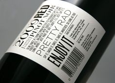 Bottle of Red Branding - Swear Words | Branding, Design & Web Development