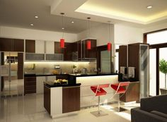 Cozinhas Vermelhas!!! Lindas e Super Modernas!