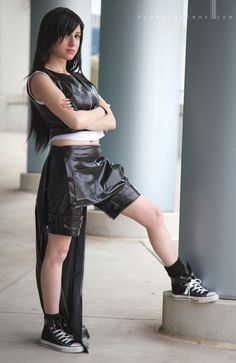 I love when people physically resemble the characters they dress as. Tifa. FFVII