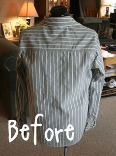 DIY shirt refashion