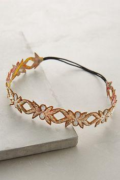 Anthropologie EU Oak Leaf Headband
