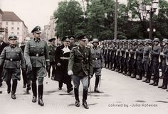 Ion Antonescu with german soldiers by Julia-Koterias - pin by Paolo Marzioli