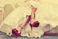 Red shoes! Love!