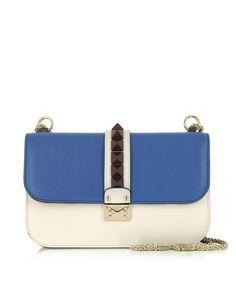 Valentino Lock Multicolor Chain Shoulder Bag bcb93e0630cda