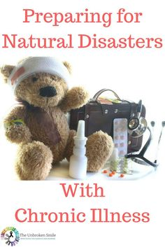 Preparing for natural disasters with chronic pain | Preparing for natural disasters with chronic illness | Prepare for hurricanes with chronic pain | Prepare for blizzards with chronic illness | Bad weather and chronic illness | Bad weather and chronic pa