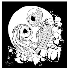 free printable nightmare before christmas coloring pages best coloring pages for kids - Nightmare Before Christmas Coloring Pages