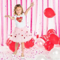 Craft your little love an adorable outfit for Valentine's Day with a ready-to-go tutu!