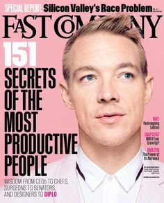 Newest cover Fast Company Creative Director: Florian Bachleda Photography Director: Sarah Filippi Production Director: Carly Migliori