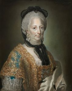 Portrait de la duchesse Philippine Charlotte von Braunschweig, 1769 Anna Rosina de Gasc