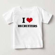 I love Recruiters Tee T Shirt, Hoodie Sweatshirt