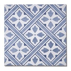 Laura Ashley Mr Jones Midnight 33cm x 33cm Floor Tile