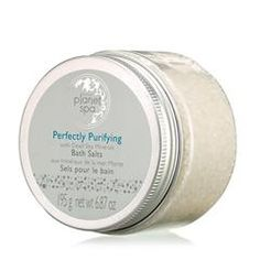 Planet Spa Perfectly Purifying with Dead Sea Minerals Bath Salts Stocking stuffer ideas www.youravon.com/michellemulcahy