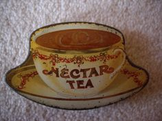 Miniature sample tin for Nectar Tea