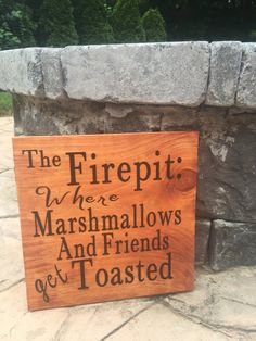 Fire Pit Chairs, Fire Pit Seating, Fire Pit Area, Seating Areas, Fire Pit Landscaping, Fire Pit Backyard, Back Yard Fire Pit, Backyard Signs, Backyard Ideas