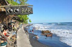 El Tunco, litoral de El Salvador