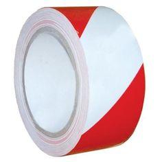 Páska 75 m, červeno/biela, výstražná