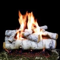 Efficient Ventless Gas Fireplace Logs