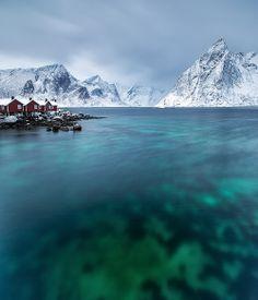 Rorbuer Hamnoy   Noruega