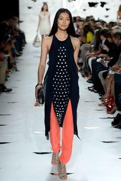 New York Fashion Week: Diane Von Furstenberg Spring 2013