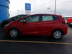 The #Fit is GO at #Mungenast St. Louis Honda! We've received our first handful of new units today, with many more on the way!