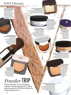 We're thrilled to see our #MineralFoundation in the latest issue of Vogue! #naturalbeauty