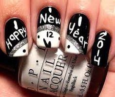 Resultado de imagen para diseños de uñas para fin de año