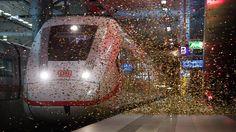 Flagschiff, Rückgrat und Herzstück: Bahn setzt neuen ICE aufs Gleis